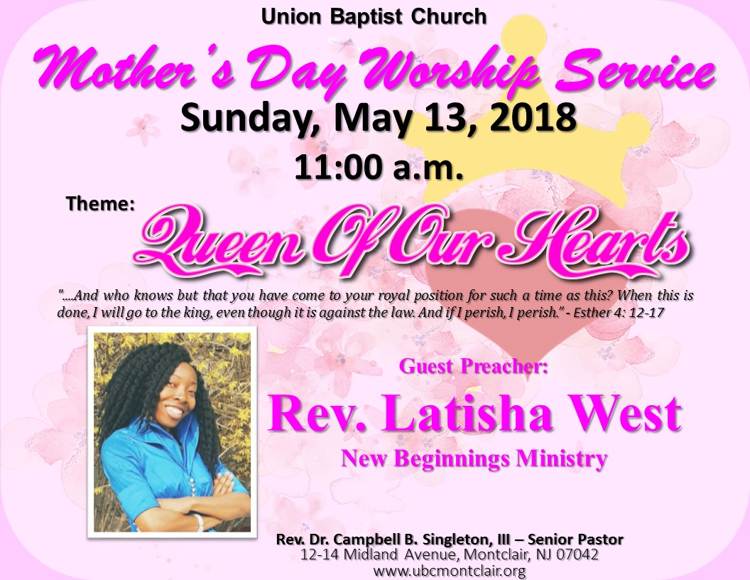 Union Baptist Church | Montclair, NJ